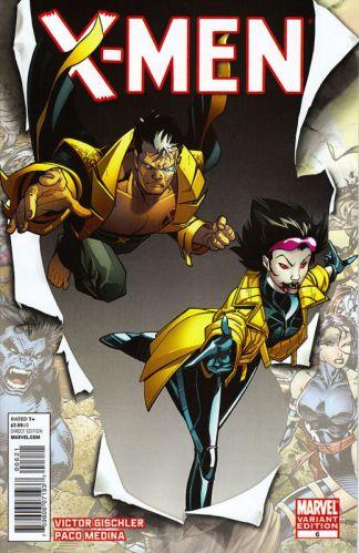 X-Men #6 Paco Medina I am an X-Man Variant Vampire Jubilee 2010