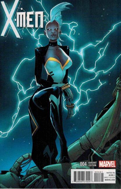 X-Men #4 1:50 Sara Pichelli Storm Variant Brian Wood Marvel 2013