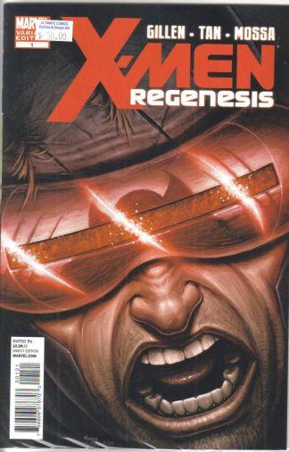 X-Men: Regenesis Morry Hollowell Variant Kieron Gillen Tan