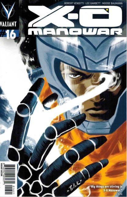 X-O Manowar #16 1:20 Dave Bullock Variant Valiant 2012