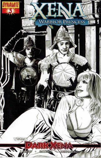 Xena Warrior Princess #3 Dark Xena Fabiano Neves Sketch Variant John Layman