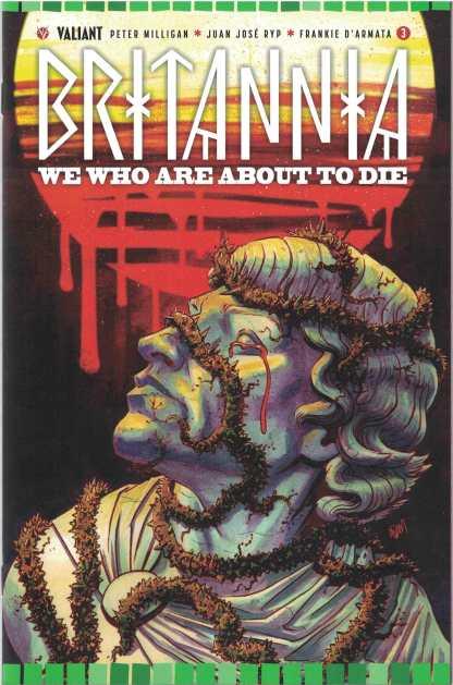 Britannia We Who Are About to Die #3 1:20 Adam Gorham Cover D Valiant 2017