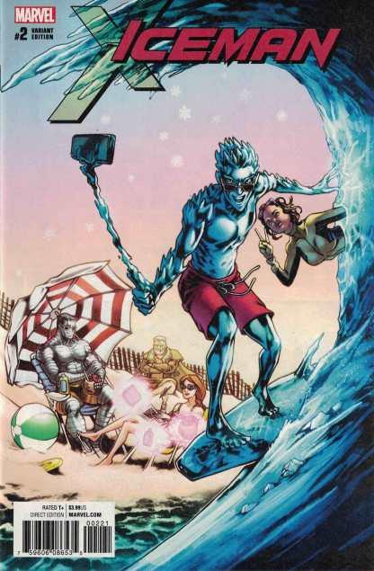 Iceman #2 1:25 Tana Ford Variant Marvel 2017