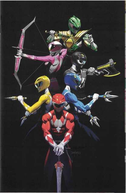 Mighty Morphin Power Rangers 2017 Annual #1 1:10 Dan Mora Boom! Studios