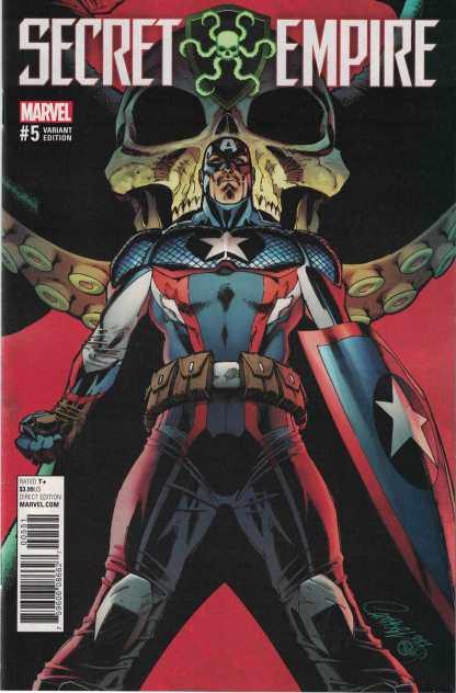 Secret Empire #5 1:50 J Scott Campbell Variant Marvel 2017