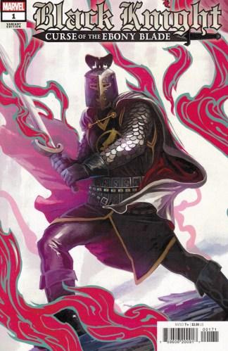 Black Knight Curse of the Ebony Blade #1 1:25 Stephanie Hans Variant Marvel 2021
