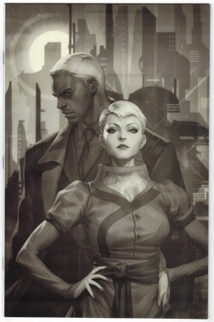 Blade Runner Origins #1 1:15 Artgerm B&W Variant Titan 2021 VF/NM