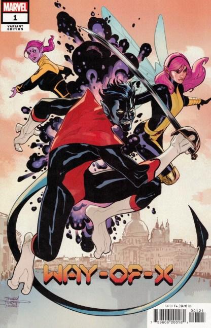 Way of X #1 1:25 Terry & Rachel Dodson Variant Marvel 2021