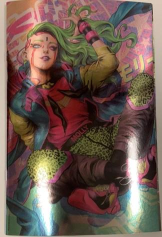 Batman #108 1:50 Stanley Artgerm Lau Foil Variant DC Miracle Molly 2016