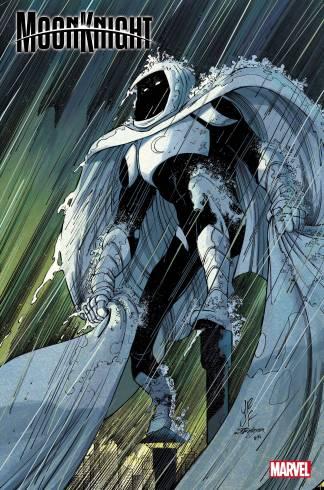Moon Knight #1 1:200 John Romita Jr Variant Marvel 2021 NM Est Ship Date 7/21/2021