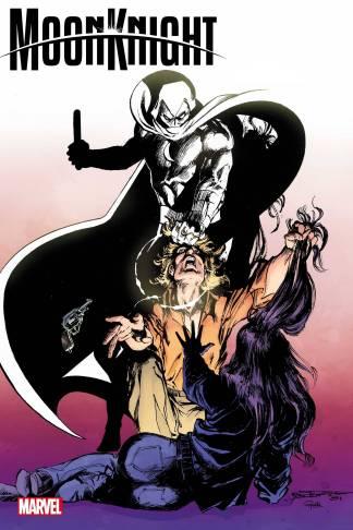 Moon Knight #1 1:100 Bill Sienkiewicz Hidden Gem Variant Marvel 2021 NM Est Ship Date 7/21/2021