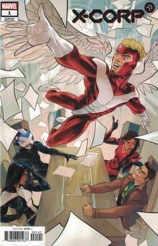 X-Corp #1 1:25 Otto Schmidt Variant Marvel 2021