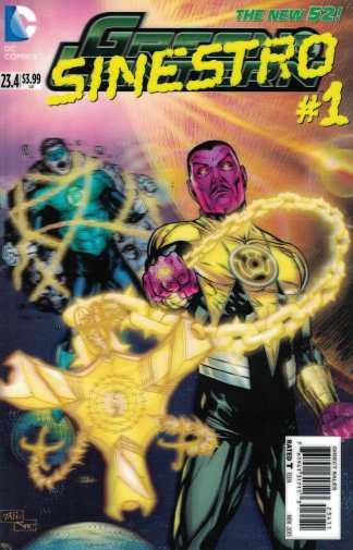 Green Lantern #23.4 Billy Tan Sinestro #1 3D Lenticular Variant DC Matt Kindt