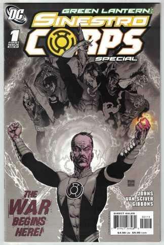 Green Lantern Sinestro Corps Special #1 3ed Print DC 2007 Geoff Johns VF/NM