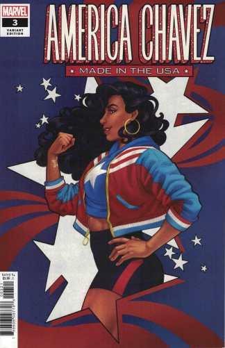 America Chavez #3 Cola B CVR Marvel 2020 Kalinda Vazquez 1st Catalina Chavez