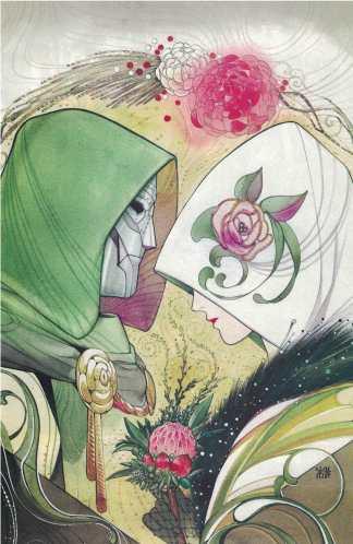 Fantastic Four #32 1:100 Peach Momoko Virgin Variant Marvel 2018 Doctor Doom