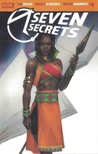 Seven Secrets #8 1:10 Di Nicuolo Variant BOOM! 2020