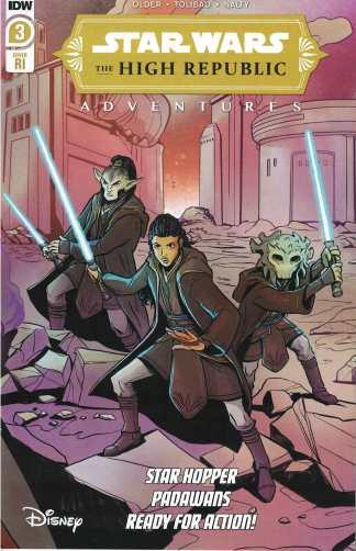 Star Wars High-Republic #3 1:10 Yael Nathan Variant Marvel 2021