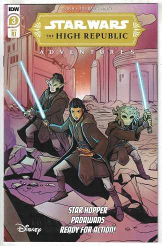 Star Wars High-Republic #3 1:10 Yael Nathan Variant Marvel 2021 VF/NM