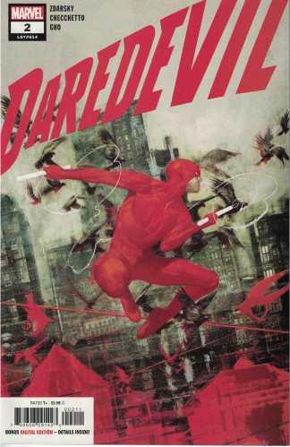 Daredevil #2 1st Print Cover A Tedesco Cover Marvel 2019 Zdarsky