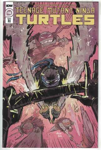 Teenage Mutant Ninja Turtles #116 1:10 Juni Ba RI Variant IDW 2011 VF/NM