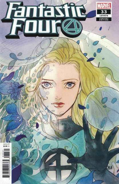 Fantastic Four #33 1:50 Peach Momoko Variant Marvel 2018 Invisible Woman