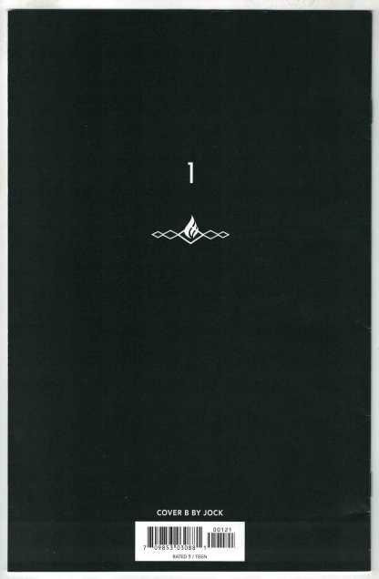 Shadecraft #1 Jock Zadie 1st Print B Cover 2021 Image Henderson Optioned VF/NM