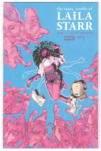 Many Deaths of Laila Starr #1 1:25 Anand Rk Variant Boom! 2021 VF/NM