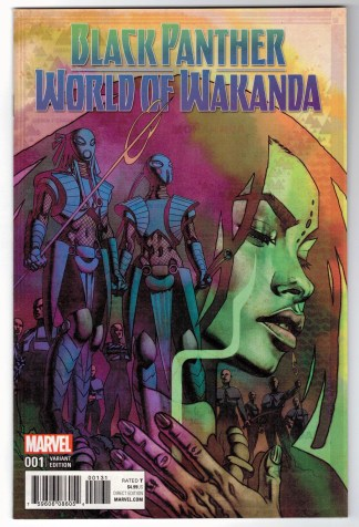 Black Panther World of Wakanda #1 1:25 Stelfreeze Variant Marvel 2016 VF/NM
