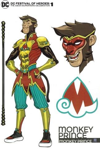 DC Festival of Heroes Asian Superhero Celebration #1 1:25 Chang Variant