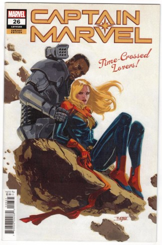 Captain Marvel #26 1:25 Mahmud Asrar Variant Marvel 2019 VF/NM