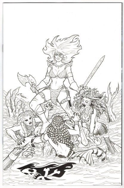 Invincible Red Sonja #1 1:40 Amanda Conner Virgin Variant Dynamite 2021 VF/NM