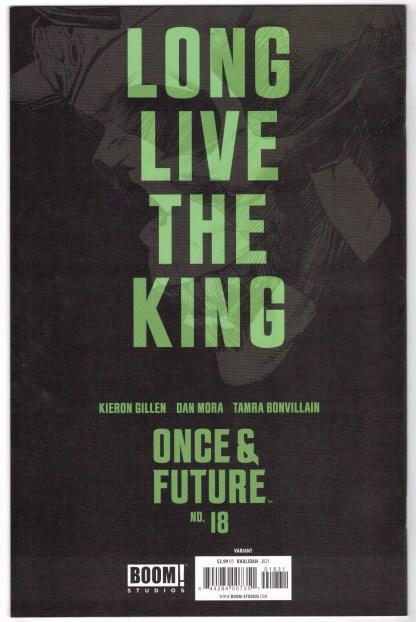 Once and Future #18 1:25 Qistina Khalidah Variant Boom 2019 NM-