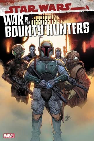 Star Wars War of the Bounty Hunters #1 1:25 Leinil Francis Yu Variant Marvel -Ships 6/3/2021