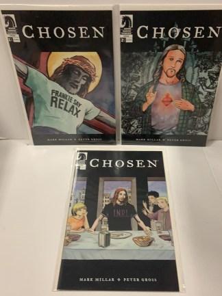 Chosen #1-3 Complete Set Millarworld Dark Horse American Jesus 2004 VF/NM