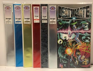 Deathmate Collection Prologue Black Blue Red Yellow Epilogue 1993-94 VF/NM