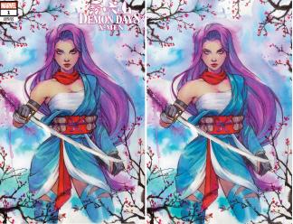 Demon Days X-Men #1 Sabine Rich Variant Trade Dress/Virgin SET Marvel 2021