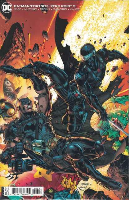 Batman Fortnite Zero Point #3 Jim Lee Cover B DC 2021 Sealed Polybagged