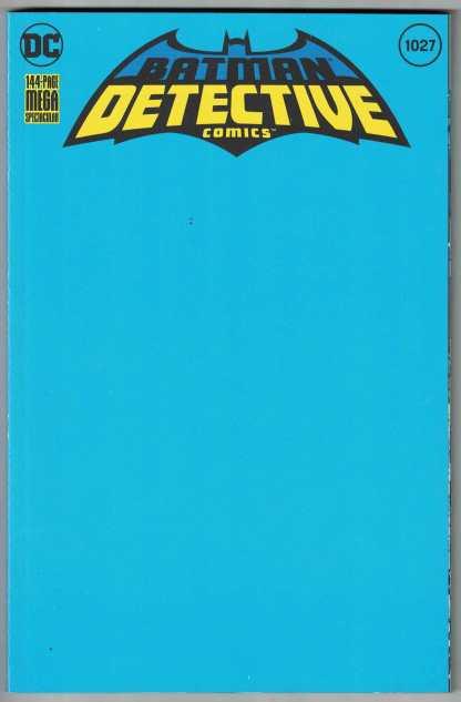Detective Comics #1027 Blank Sketch Variant DC 2016 VF/NM