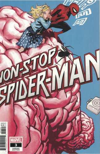 Non-Stop Spider-Man #3 1:25 Bachalo Marvel 2021