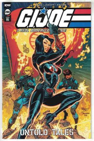 G.i. Joe A Real American Hero 1:10 Royle Variant IDW 2010 VF/NM Untold Tales