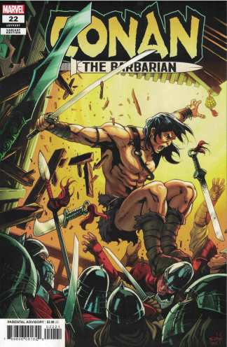 Conan The Barbarian #22 1:25 Schiti Marvel 2019