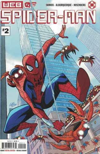 Web of Spider-Man #2 Gurihiru Cover A Marvel 2021