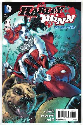 Harley Quinn #1 2nd Print Conner DC New 52 2014 VF/NM