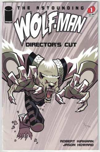 Astounding Wolf-Man #1 Director's Cut Image 2007 Robert Kirkman VF/NM