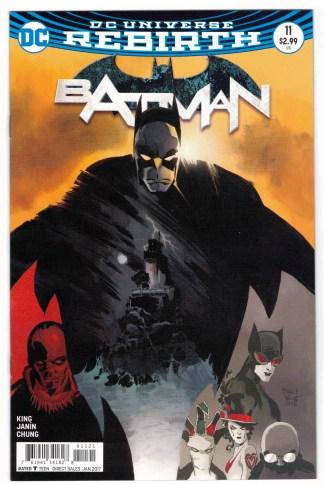 Batman #11 Tim Sale Cover B Variant DC Rebirth 2016 VF/NM
