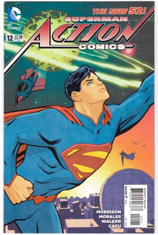 Action Comics #12 Cliff Chiang Limited Variant DC 2011 New 52 Morrison VF/NM