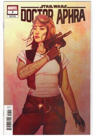 Star Wars Doctor Aphra #7 1:25 Jenny Frison Variant Marvel 2020 VF+