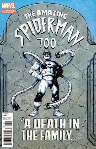Amazing Spider-Man #700 4th Print Ryan Stegman Variant Marvel