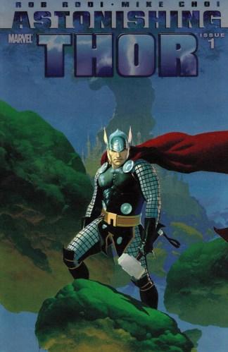Astonishing Thor #1 1:20 Esad Ribic Foilgram Variant Marvel 2011